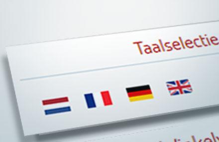automatische taal selectie